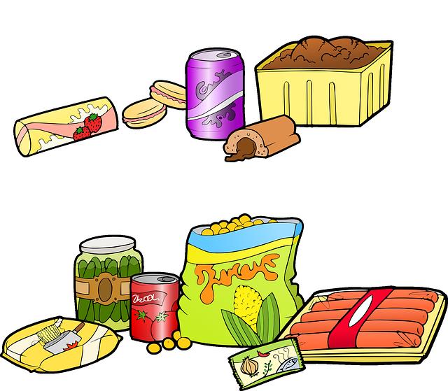 o consumo de alimentos ultraprocessados est u00e1 associado  u00e0 canned food clip art images canned food clip art images